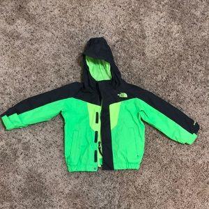 The Northface toddler windbreaker jacket
